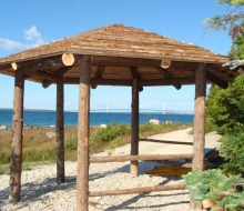 Gazebo at the Straits