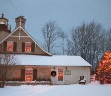 "Winter open house during ""Christmas in Mackinaw"""