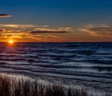 McGulpin Shoreline at sunset