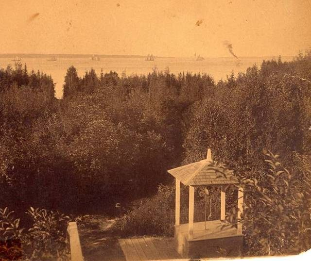 An historic view of the old wellhouse (photo courtesy of Melinda Beyne-Spencley)